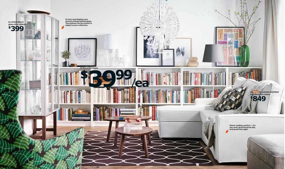 IKEA Online Katalog 2015 USA Deutschland Interieur Inferior Inneneinrichtung Möbel Schwede