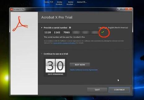 Acrobat X Pro 10 Serial number
