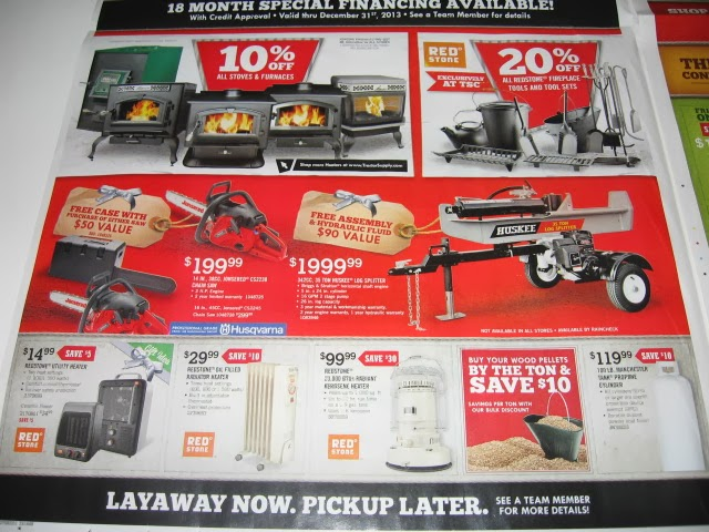 Tractor supply coupons jan 2018