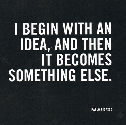 Pablo Picasso Idea Quote