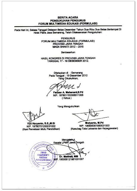 salinan Berita pengukuhan formulasi provinsi