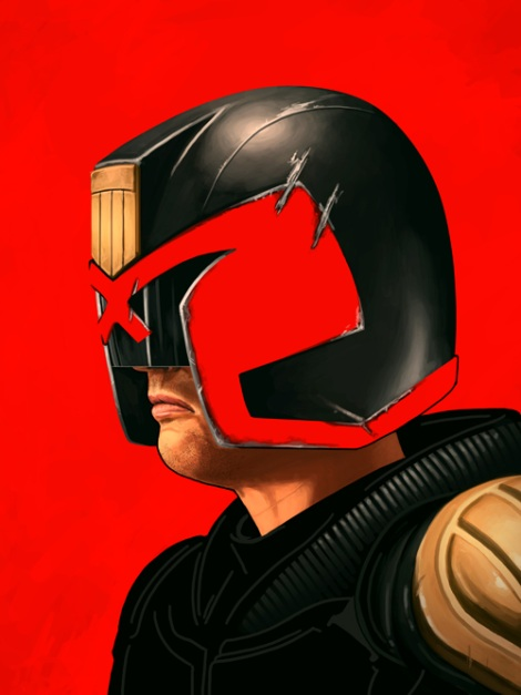 Dredd by Mike Mitchell