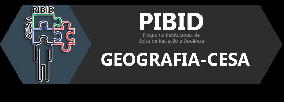 PIBID GEOGRAFIA-CESA