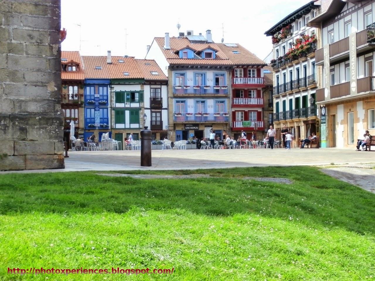 Plaza de Armas de Hondarribia - Fuenterrabía