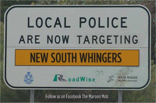 NSW Bluesers in Origin II!