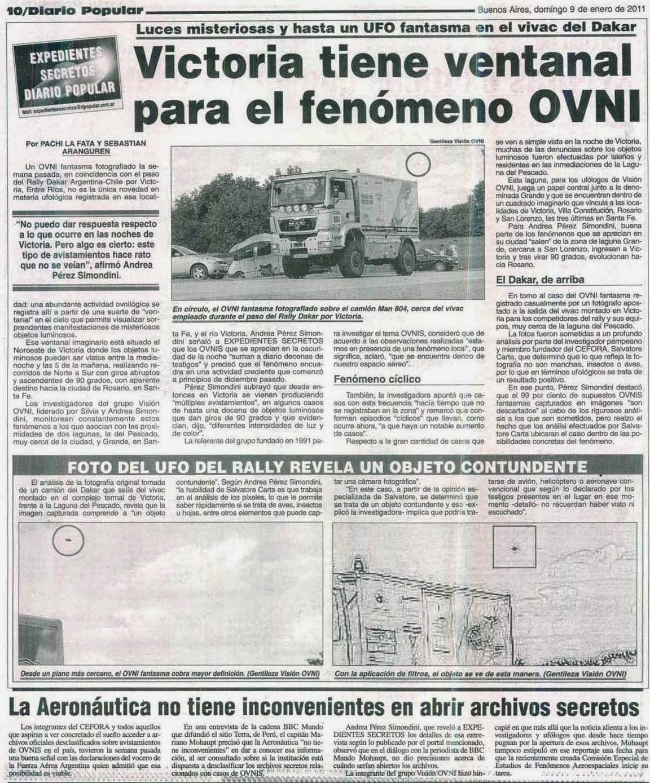 Resultado de imagen para victoria argentina ovni
