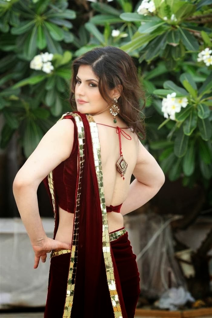 Zareen Khan Latest Saree Photos