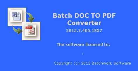 Batch Doc to PDF Converter