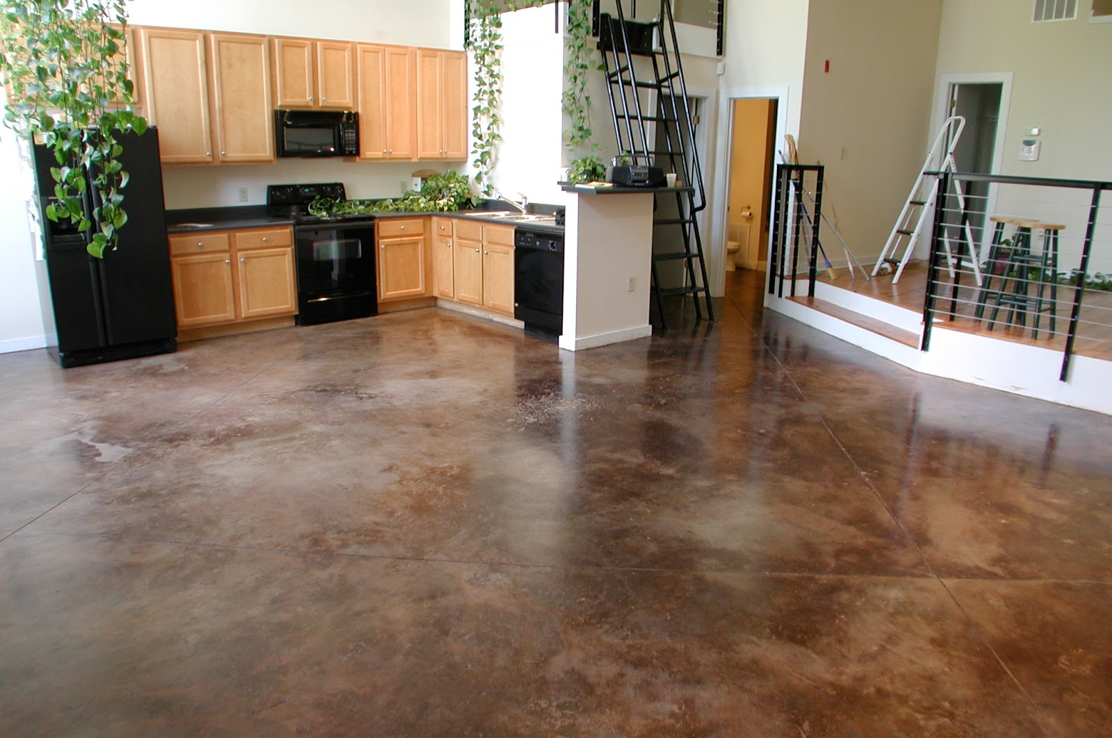 Cement Floors In Kitchen Foundation Dezin Decor Natural Stone Polished Floor Design