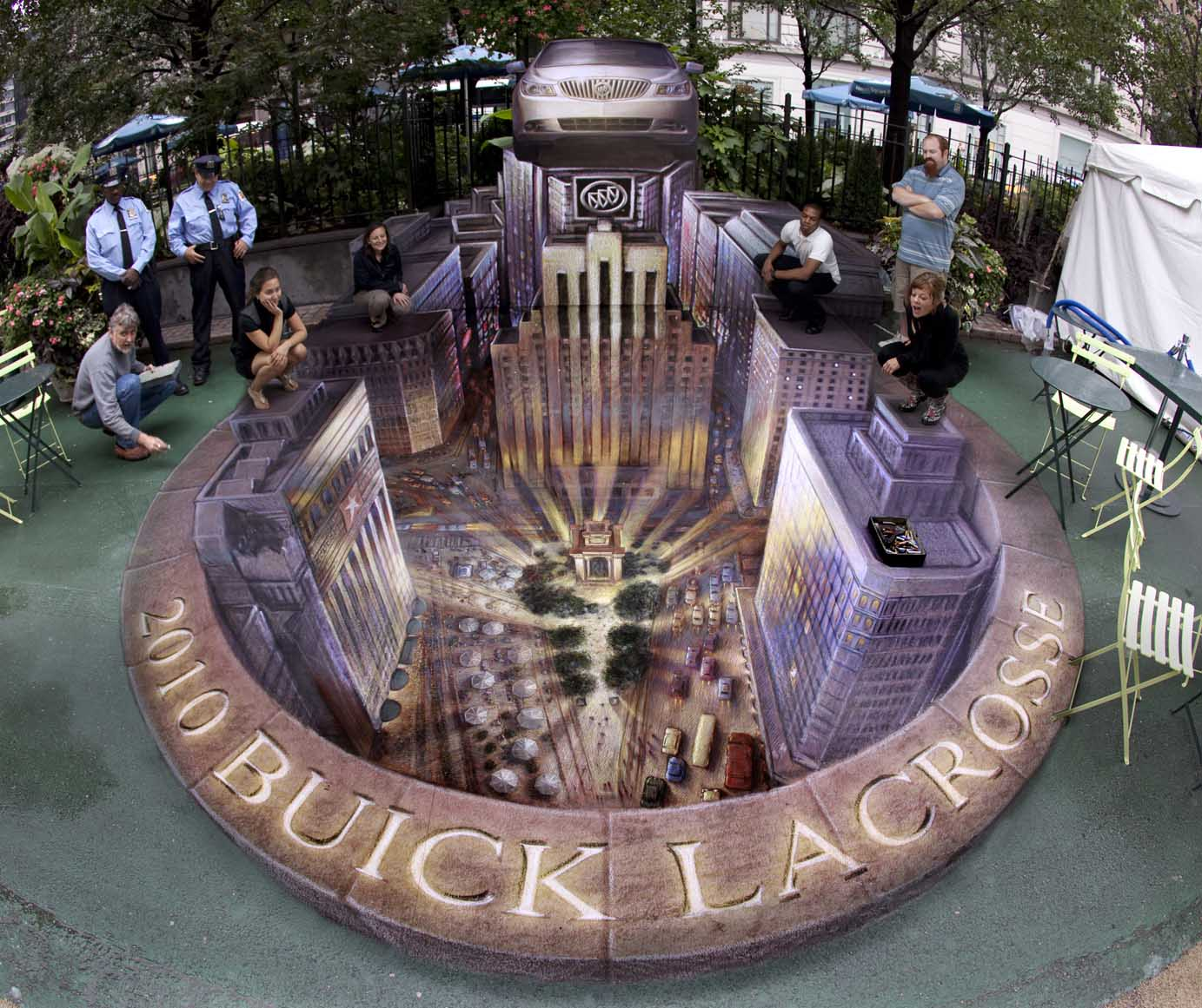 incredible 3d street art by kurt wenner information hub of besties. Black Bedroom Furniture Sets. Home Design Ideas