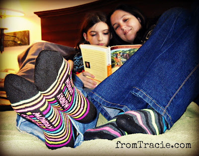 Striped Socks With Days Of The Week