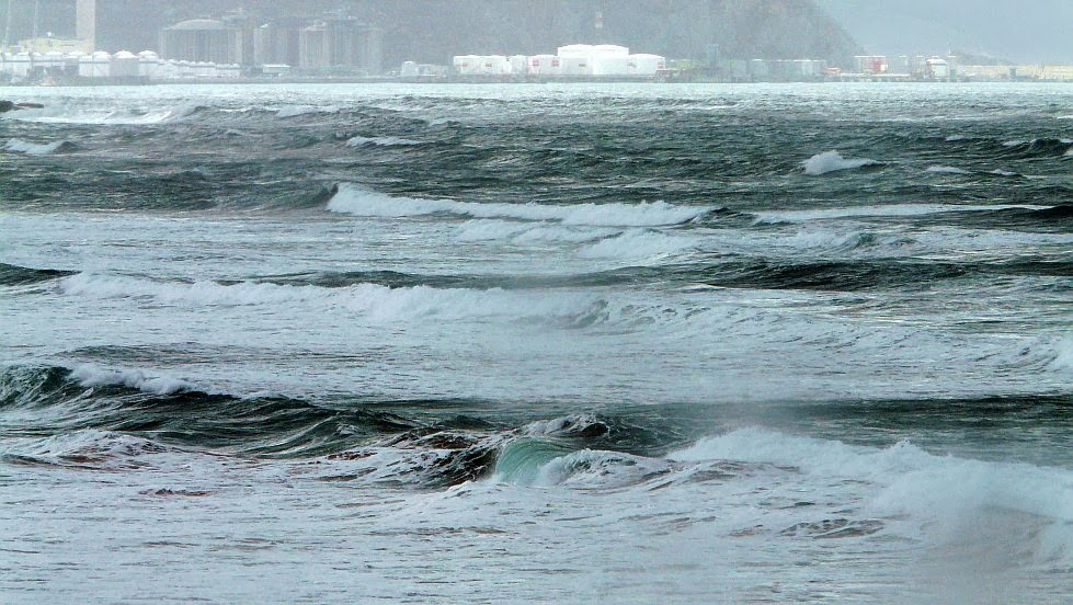 playa sope feo olas malas