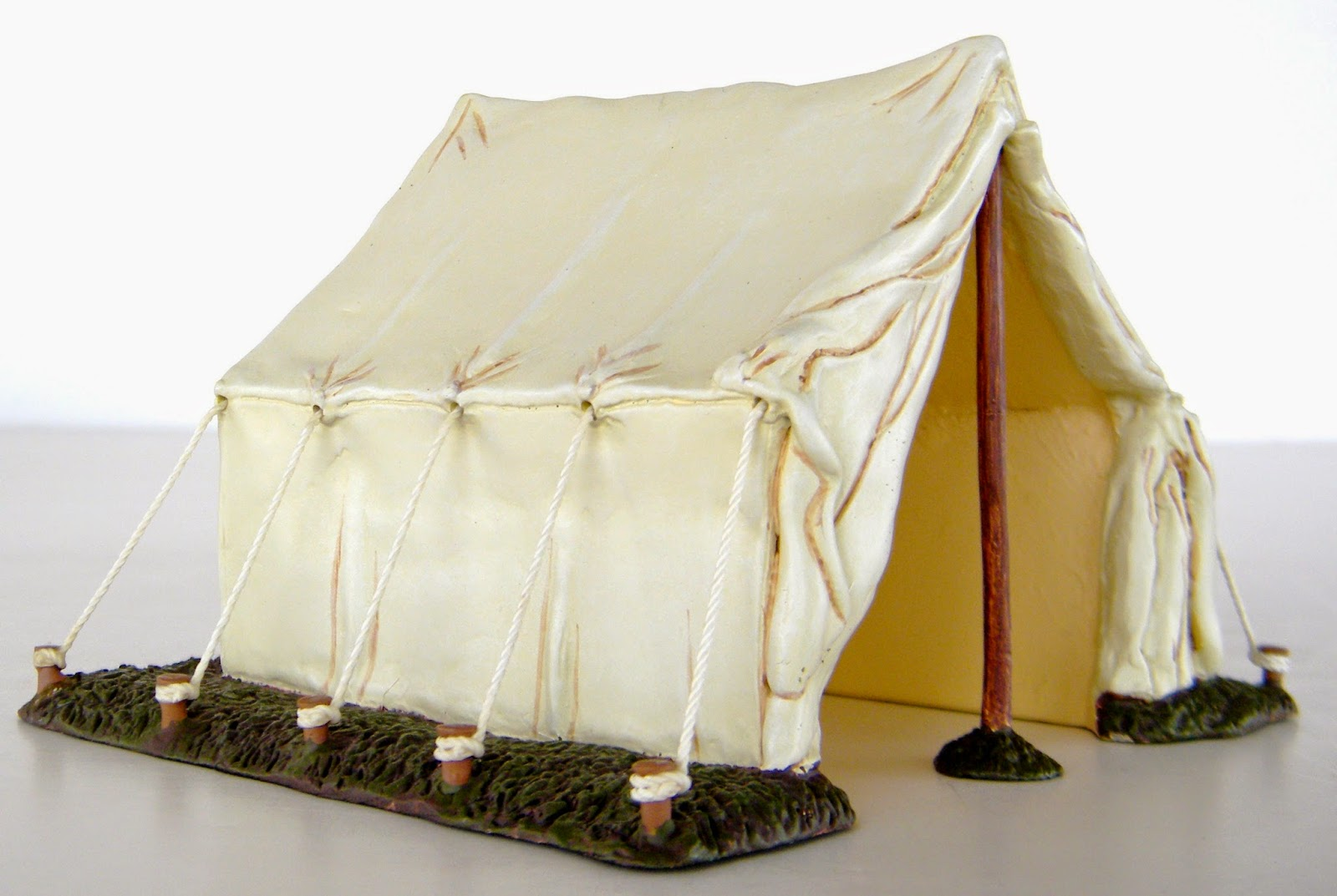 The tents has tie-down ropes made with real string and theyu0027re pre-attached to the tent and to stakes in the u0027groundu0027. Enjoy! & Toys and Stuff: Wm Britains #17380 Civil War Tents