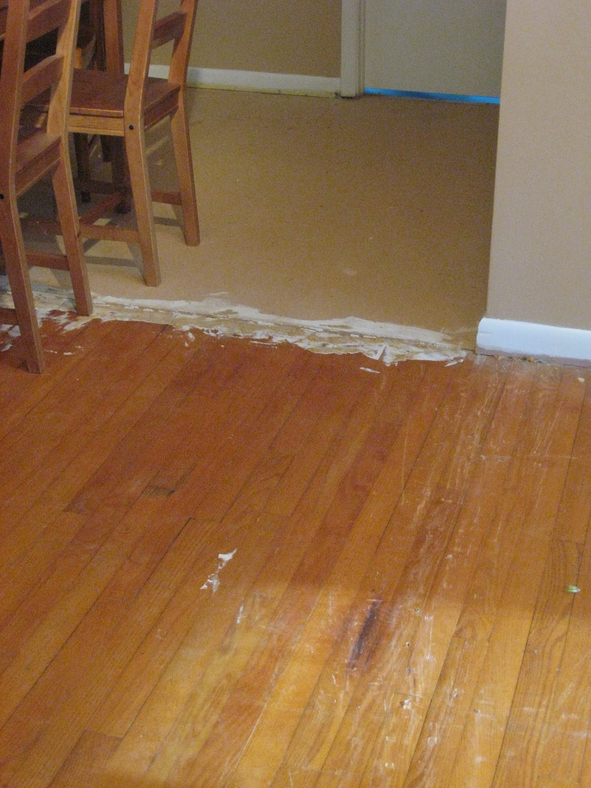 Antijenic drift new floors and a new look for the house for Hardwood floors uneven
