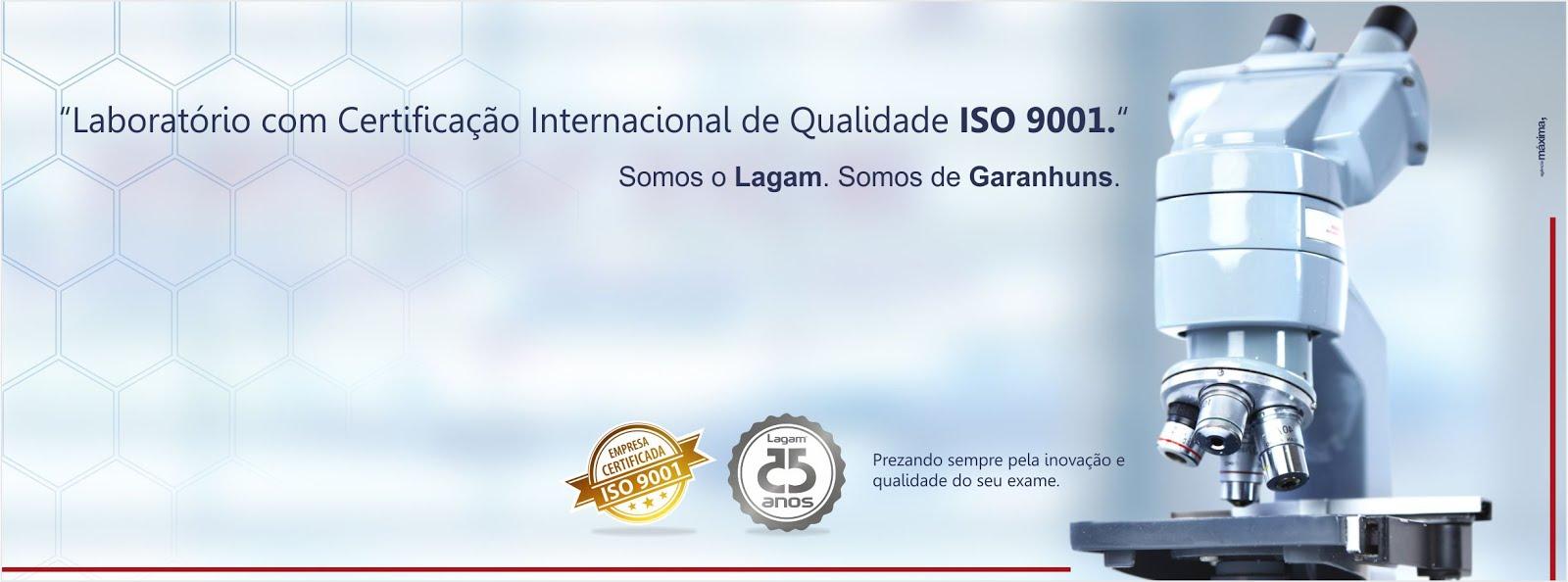 LABORATÓRIO LAGAM - 25 ANOS
