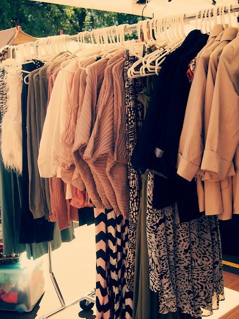 clothes shopping glebe markets