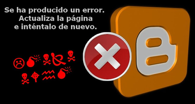 Blogger: Error al mover gadgets