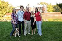 Rodrigo with the family