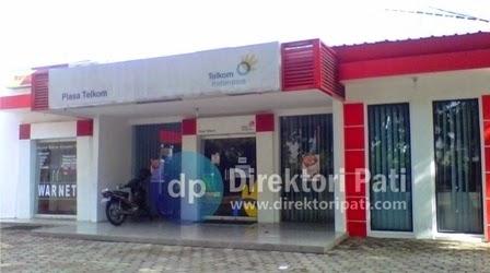 Kantor PT Telkom Pati Jawa Tengah