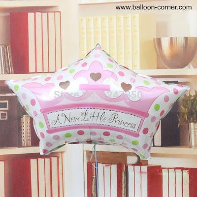 Balon Foil Mahkota A New Little Princess