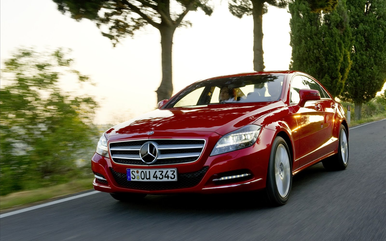 red mercedes benz car hd | wallpapers in blog*