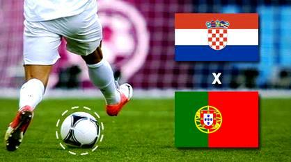 25 de junho, sábado: Croácia X Portugal