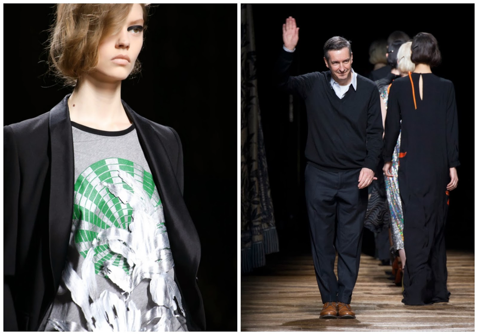 dries van noten catwalk FW 2014 gt fashion diary