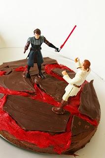 milleideeperunafesta star wars torta