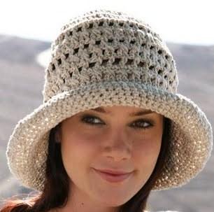 Yazlık Örgü Şapka Modelleri