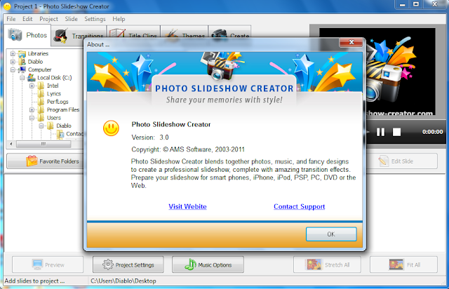 Download Photo Slideshow Creator 3 Full Version Terbaru 2012