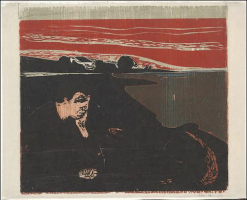 Sedefs Corner Edvard Munch Evening Melancholy I