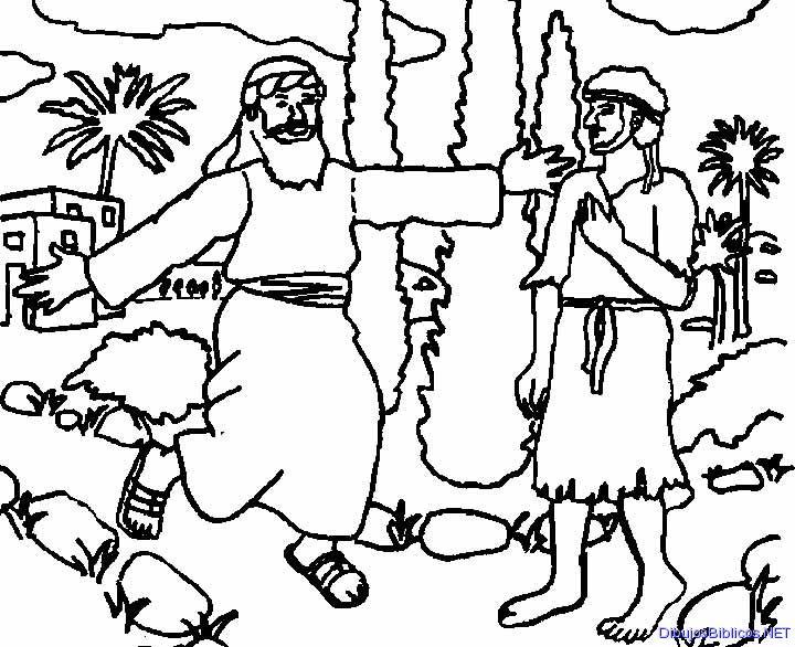 GALERIA ARTE: Dibujos para colorear Parábola del Hijo Prodigo