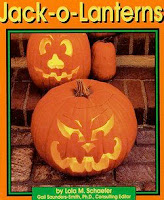 bookcover of Jack-O-Lanterns by Lola Schaefer
