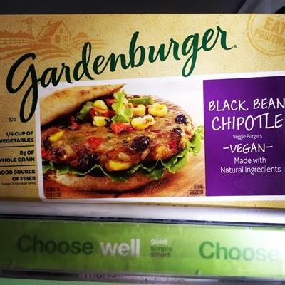 Vegan Vegetarian Food Protein Groceries Gardenburger Black Bean Chipotle Burger Veggieburger