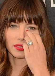 jessica biel's engagement ring