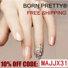 Usa MAJJX31 para descuento en BornPretty!