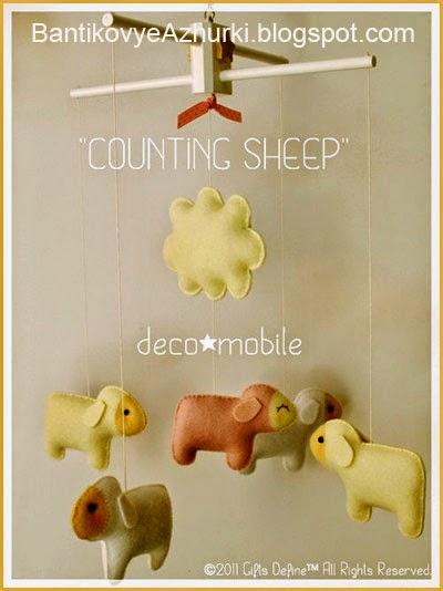 Как сделать овечек на новый год своими