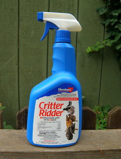 Spray Bottle of Critter Ridder