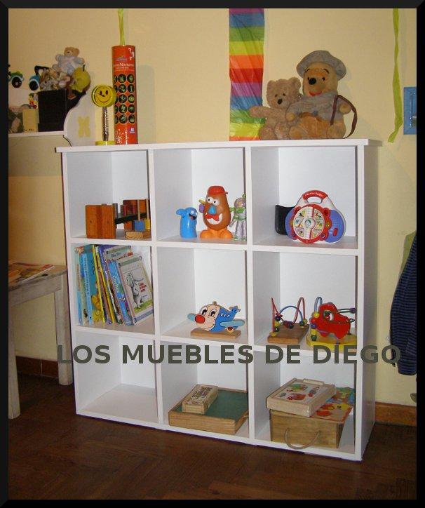 Los Muebles De Diego Mueble Organizador 9 Cubos