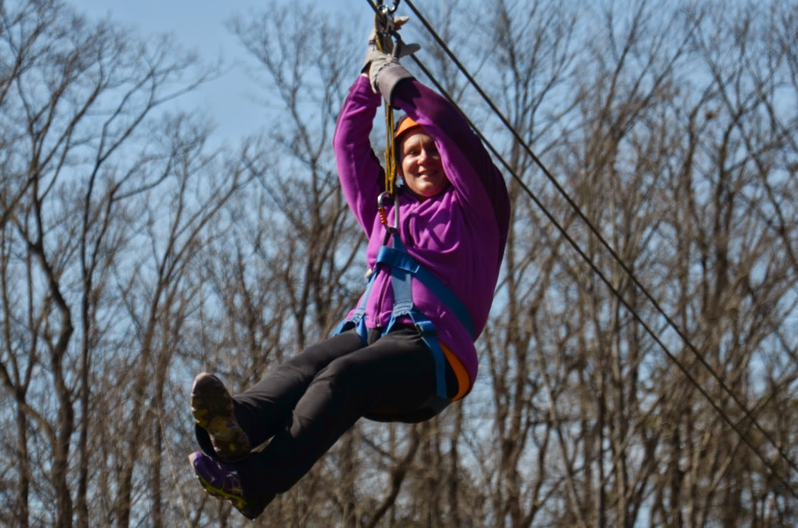 Moms love zipping at Adventure Park