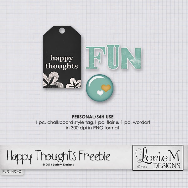 Happy Thoughts Collection $1.00 plus FWP Offer and Freebie