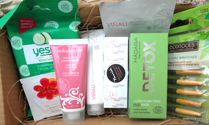 One Little Vice Beauty Box:LoveLula January Beauty Box Contents