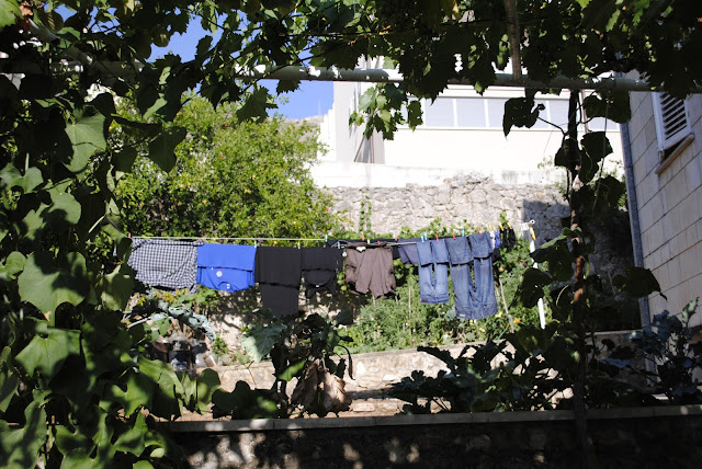 Laundry in Croatia