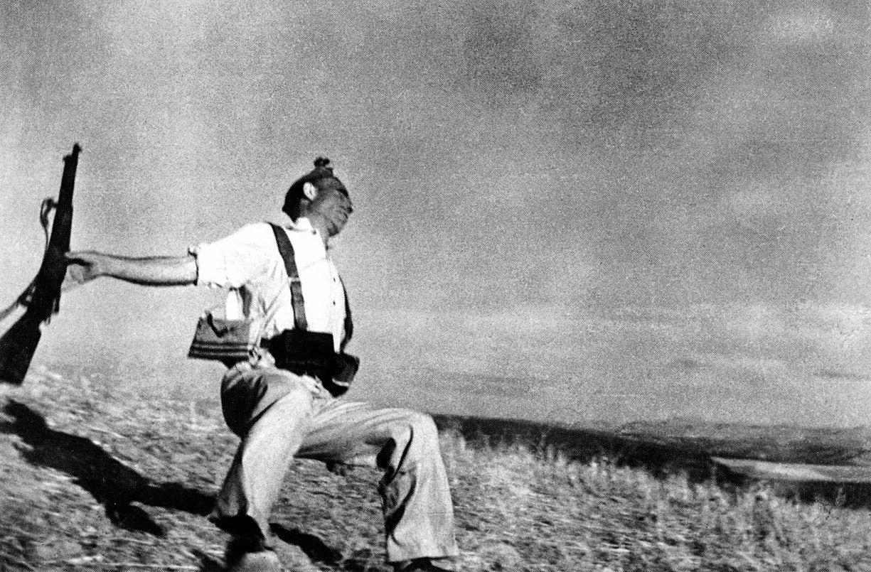 Muerte de un Miliciano (1936)