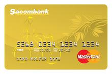 Thẻ tín dụng quốc tế Sacombank MasterCard