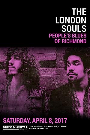 4/8 : The London Souls plus People's Blues Of Richmond