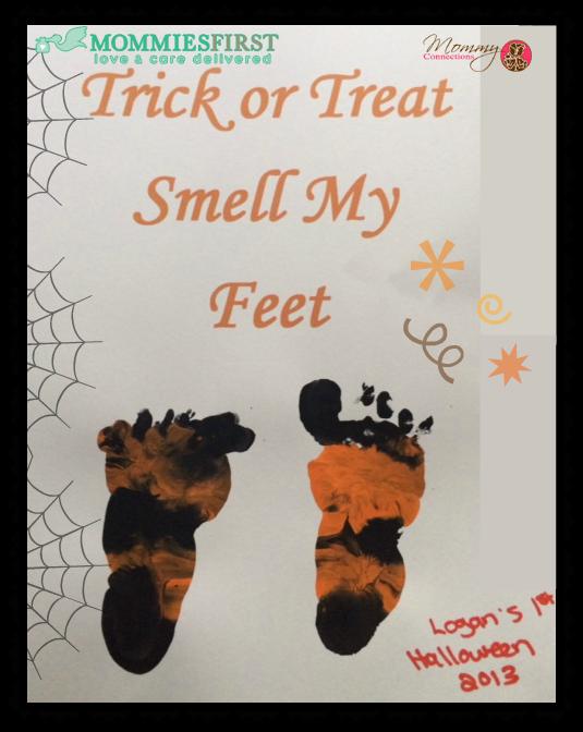 Halloween Baby Craft