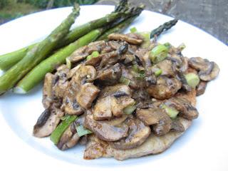 Jaegerschnitzel - Pork Cutlet with Mushroom Gravy Dairyfree