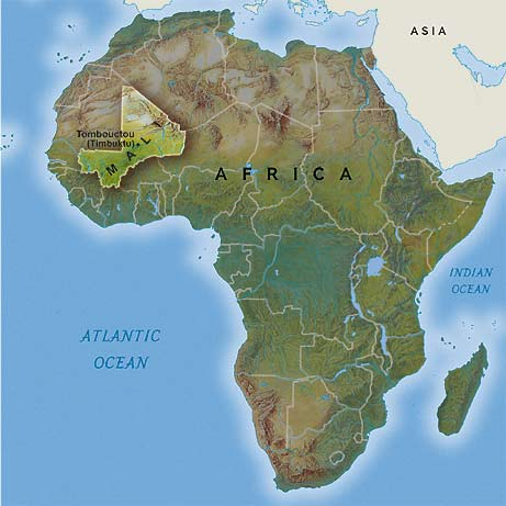 West Africa Location Located in West Africa Mali