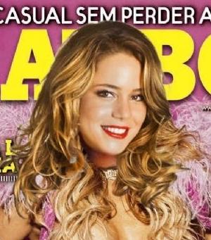 Todas As Fotos De Leandra Leal Nua Na Revista Playboy Agosto